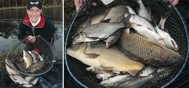 Our first days catch shot show just what can be achieved if you approach winter pellet fishing correctly.